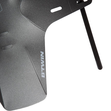 Flash Mountain Bike Mudguard - Black