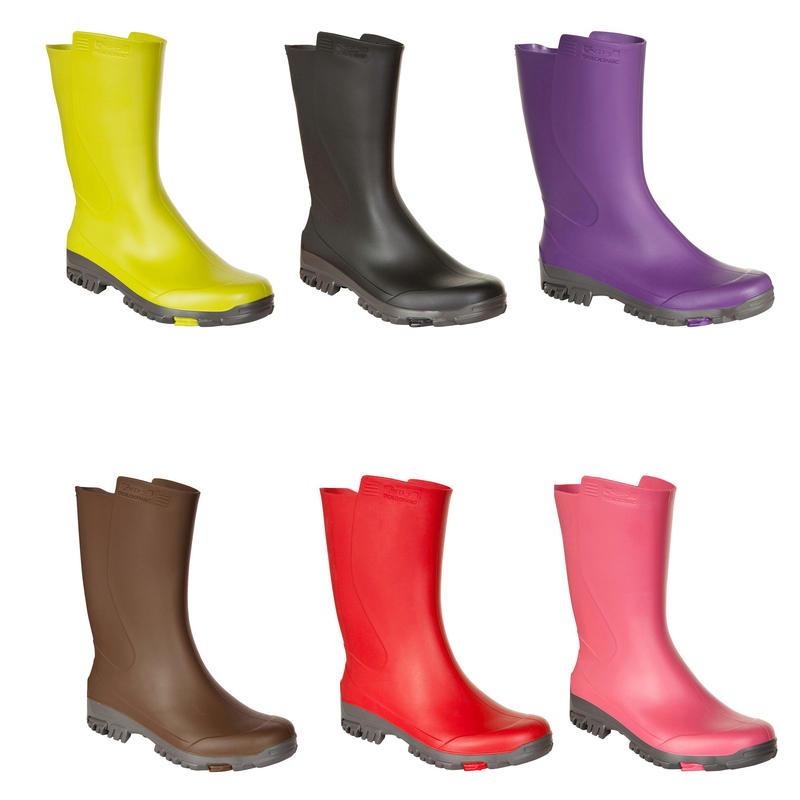 รองเท้าบูตหุ้มข้อสำหรับผู้ชายรุ่น Inverness 100 (สีดำ)
