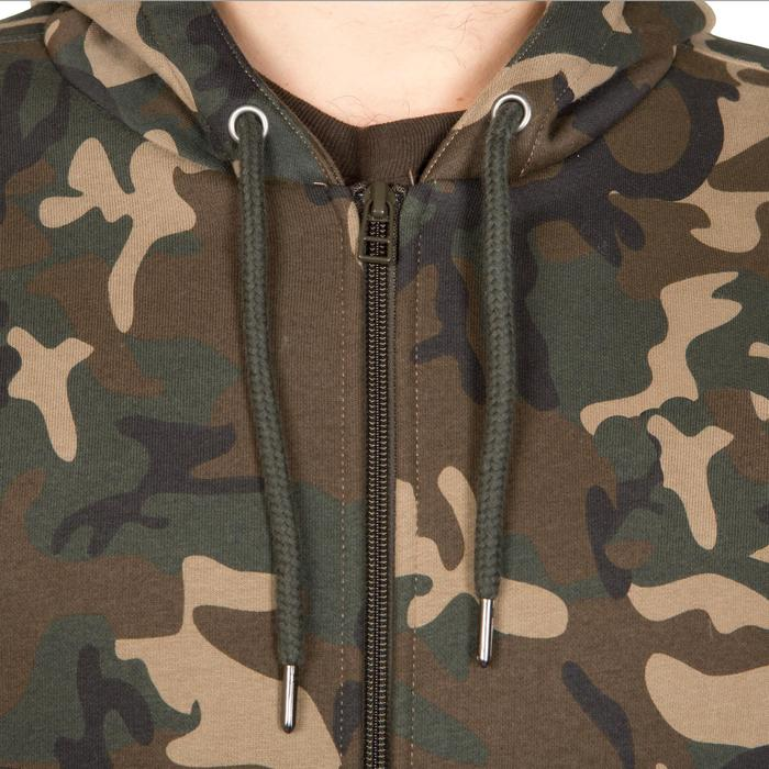 Sweat chasse avec zip 300 camouflage Woodland - 291681