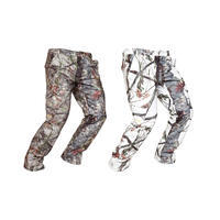 520 Warm Waterproof Trousers - Snow Camo