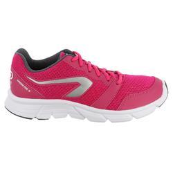 Zapatillas Jogging Running Kalenji Run One Plus Mujer Rosa Intenso