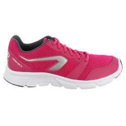 Zapatillas Running Kalenji Run One Plus Mujer Rosa Intenso