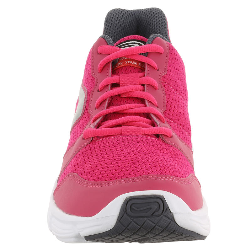 CHAUSSURE JOGGING FEMME RUN ONE PLUS ROSE