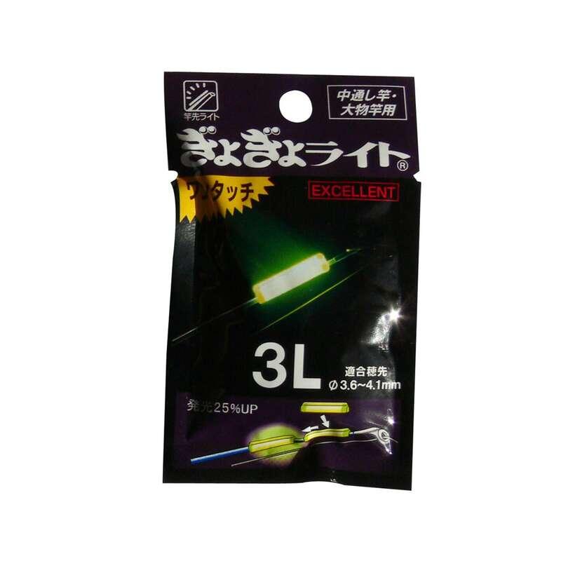 Knicklichter und Zubehör Angeln - Knicklicht 3 L / 3,6x4,1mm FLASHMER - Futter, Köder und Zubehör