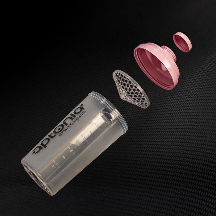 Shaker mini APTONIA roze 500ml