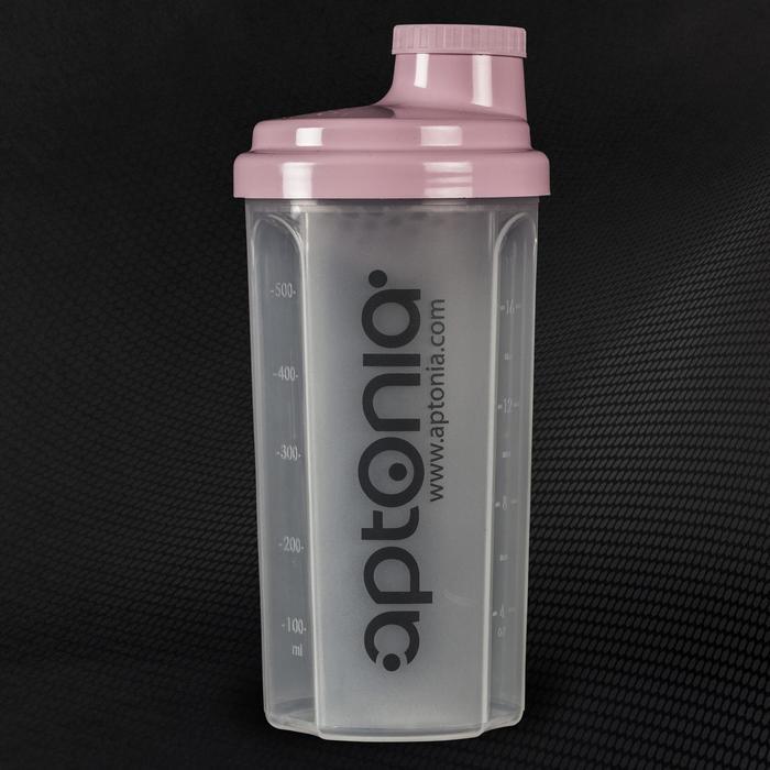 Shaker mini APTONIA roze 500ml - 292724