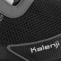 Kapteren Explor women's trail running shoes grey/pink