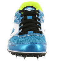 CHILDREN'S ATHLETICS TRAINERS WITH SPIKES - BLUE YELLOW