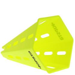 """Lot 6 cônes Modular 12"""" jaunes"""