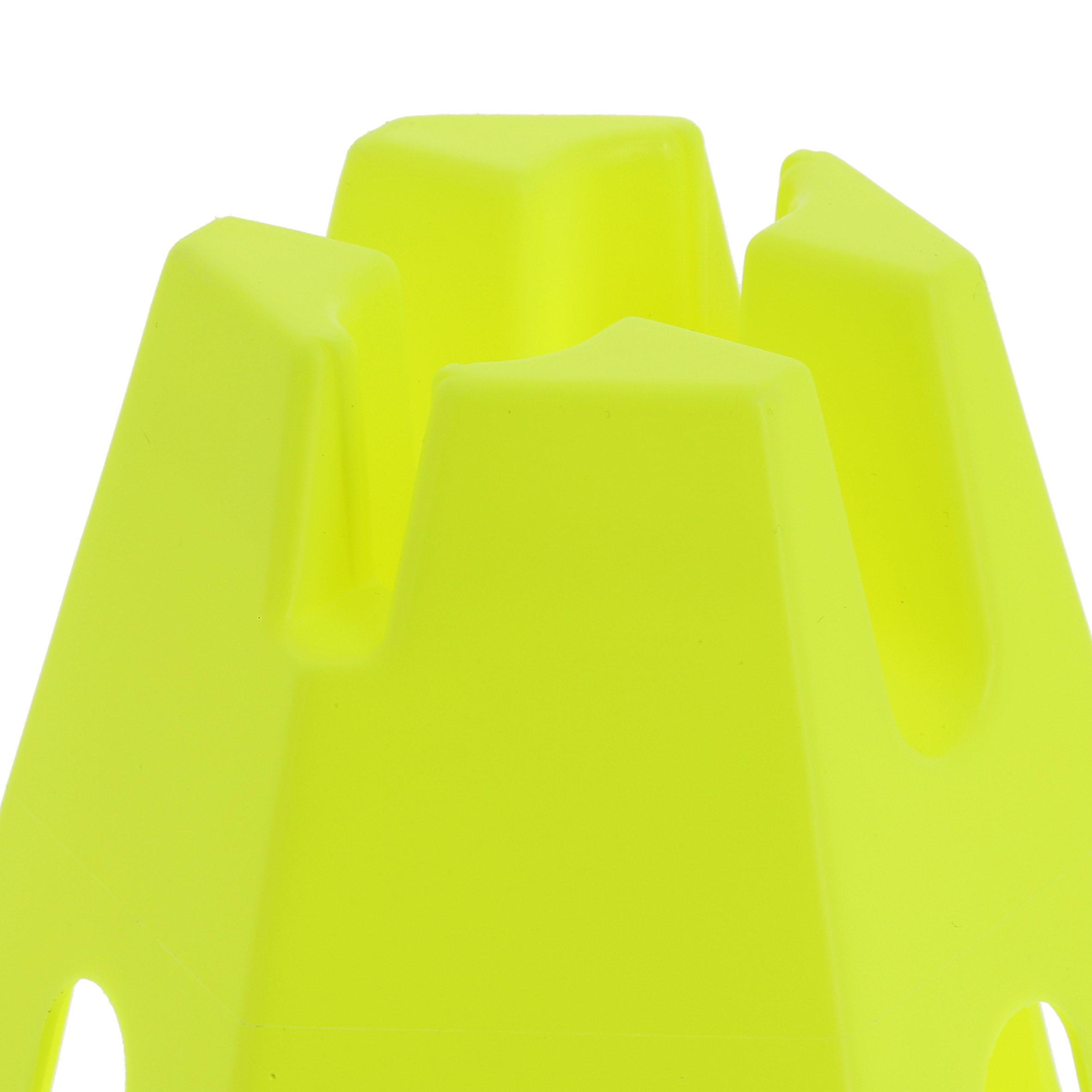 Lot 6 cônes Modular 12_QUOTE_ jaunes