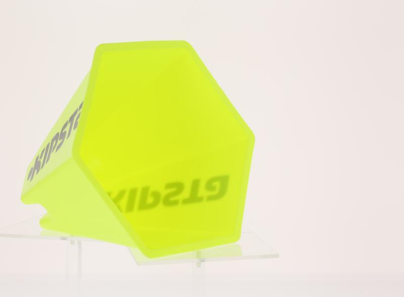 Bộ 6 cone tập bóng đá 15cm - Vàng