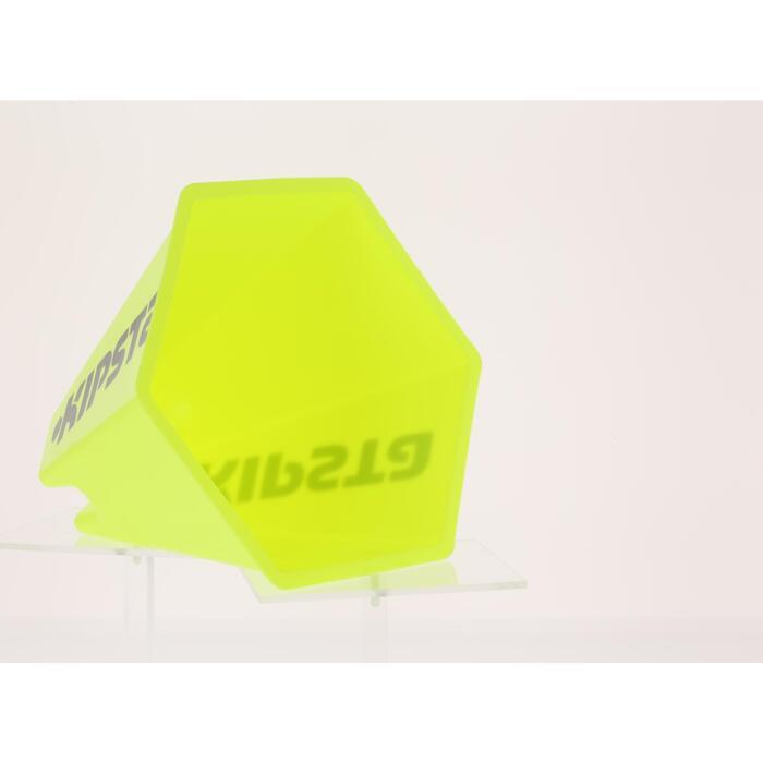 Lot 6 cônes modulables 15 cm jaunes - 295536