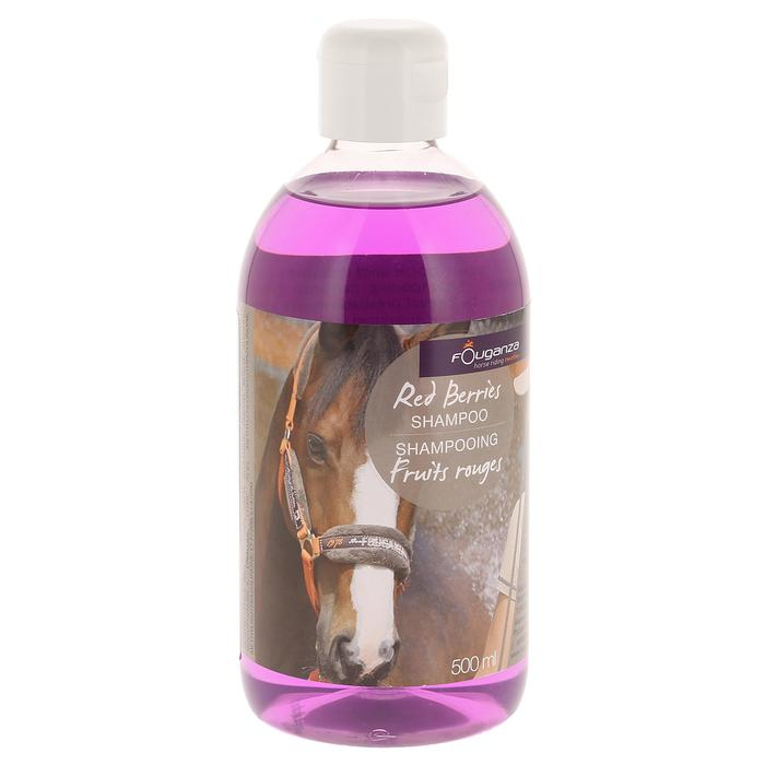 Shampoing équitation cheval et poney FRUITS ROUGES 500 ML