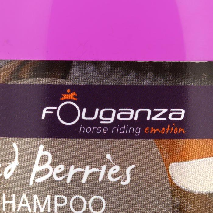 Shampoo met rode vruchten voor paarden en pony's 500 ml
