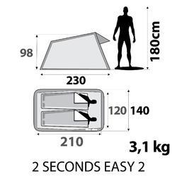 Kampeertent 2 Seconds | 2 personen - 296184