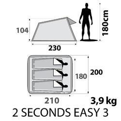 Pop up tent 2 Seconds | 3 personen - 296185