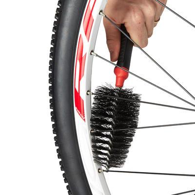 ערכה של שתי מברשות לניקוי אופניים