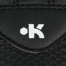 Rugbyschoenen kinderen Skill R100 FG gegoten geel zwart