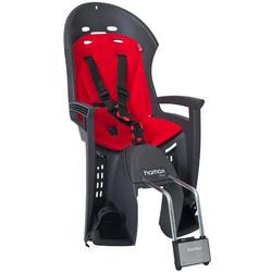 Fahrrad-Kindersitz Hamax Smiley Rahmenmontage grau/rot