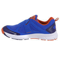 ELIOFEET BOYS' RUNNING SHOES - BLUE RED
