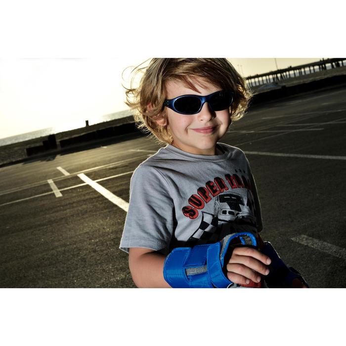 Lunettes de soleil randonnée enfant 3-6 ans SPARROW bleues catégorie 4 - 297723