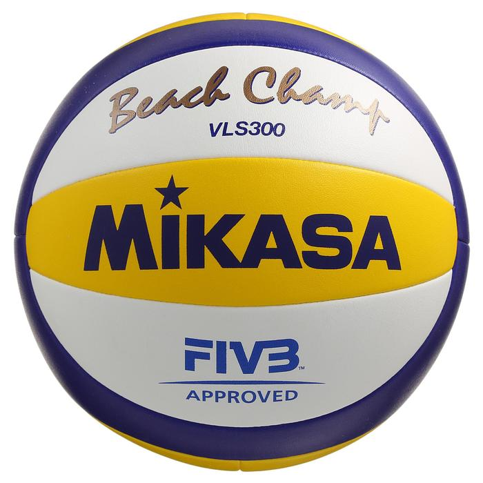 Ballon de beach volley Beach Champ II blanc jaune bleu - 298026