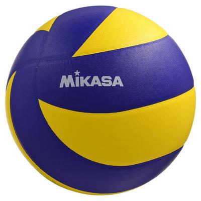 Ballon de volley-ball MVA 330 jaune et bleu