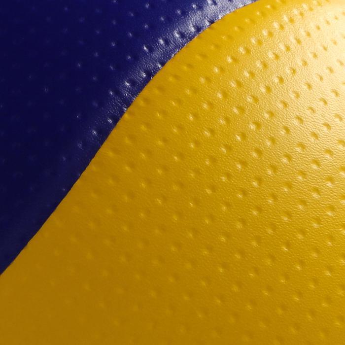 Ballon de volley-ball MVA 200 jaune bleu - 298088