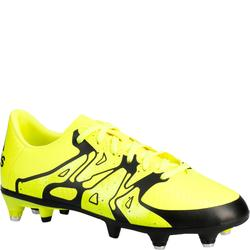 Chaussure football enfant X 15.3 SG jaune noir