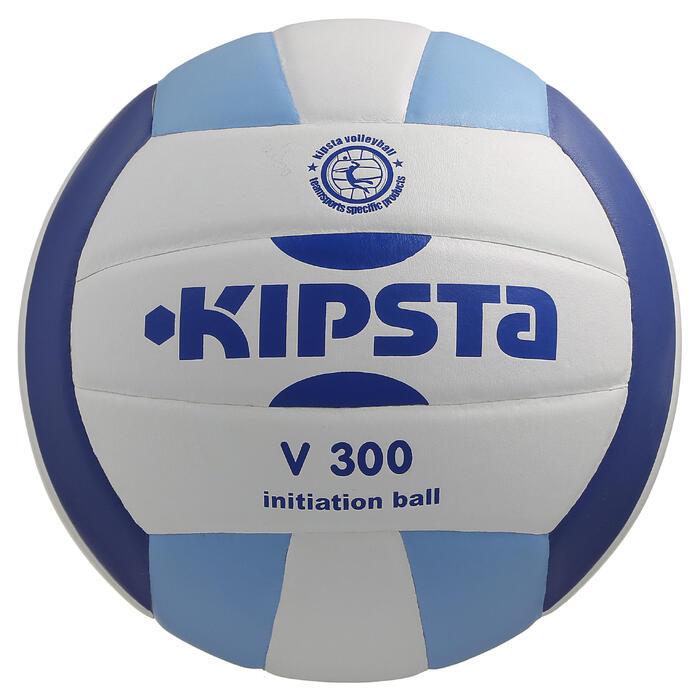 Ballon de volley-ball V300 blanc et - 298110