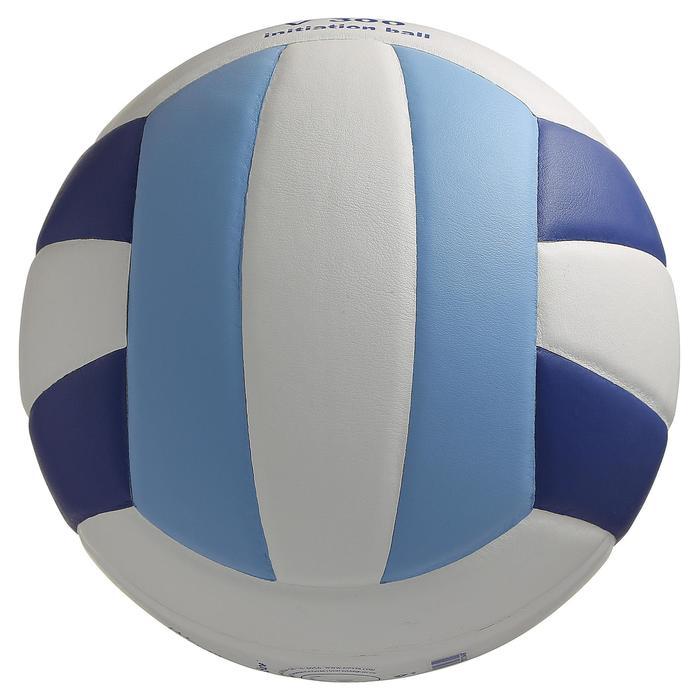 Ballon de volley-ball V300 blanc et bleu - 298111