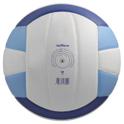 Volleybal V300 maat 5 wit/blauw - 298112
