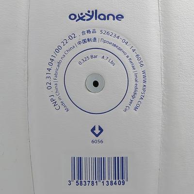 Ballon de volley-ball V300 blanc et bleu