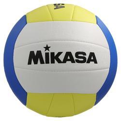 Ballon de beach volley Beach Classic jaune et blanc