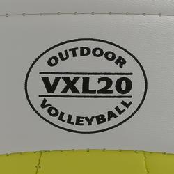 Balón de vóley playa Beach Classic amarillo y blanco
