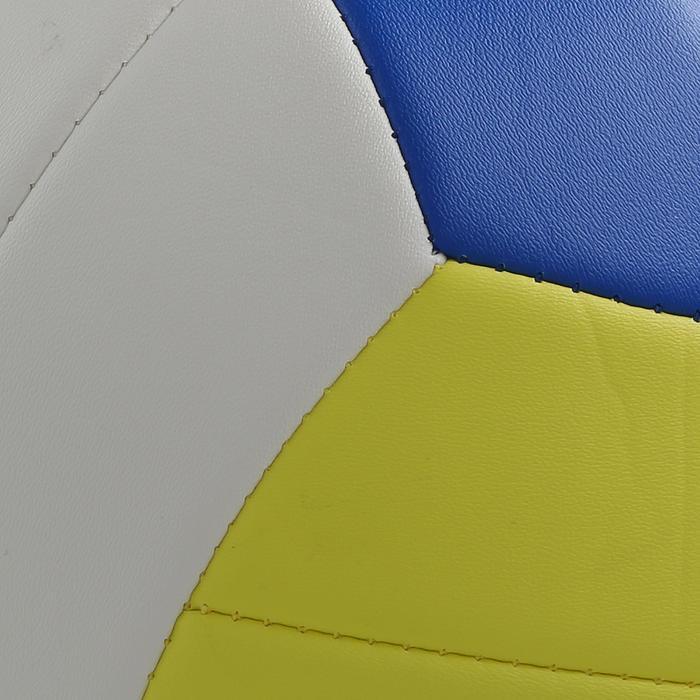 Ballon de beach volley Beach Classic jaune et blanc - 298212