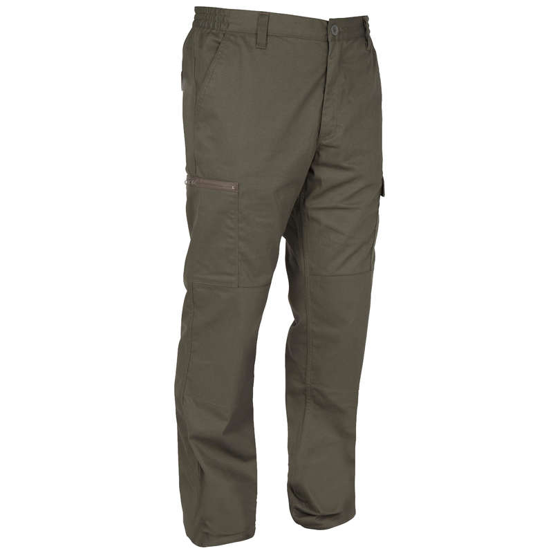 TROUSERS/SHIRTS Shooting and Hunting - Steppe 300 Trousers green SOLOGNAC - Hunting and Shooting Clothing