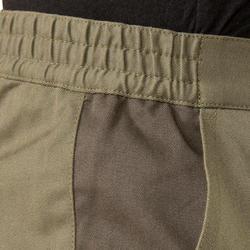 Broek Steppe 300 tweekleurig bruin - 298240