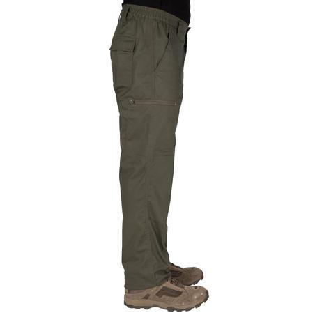 Pantalón Caza Solognac Steppe 300 Adulto Verde