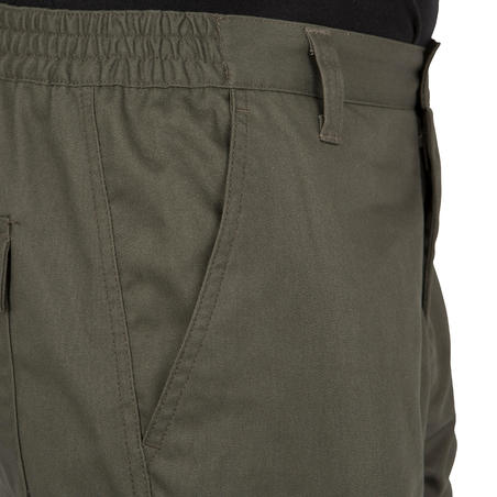 Pantalon chasse résistant Steppe 300 vert