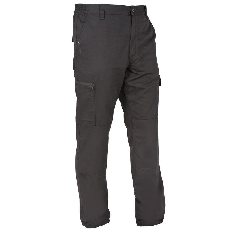Lovecké kalhoty Steppe 300 černé
