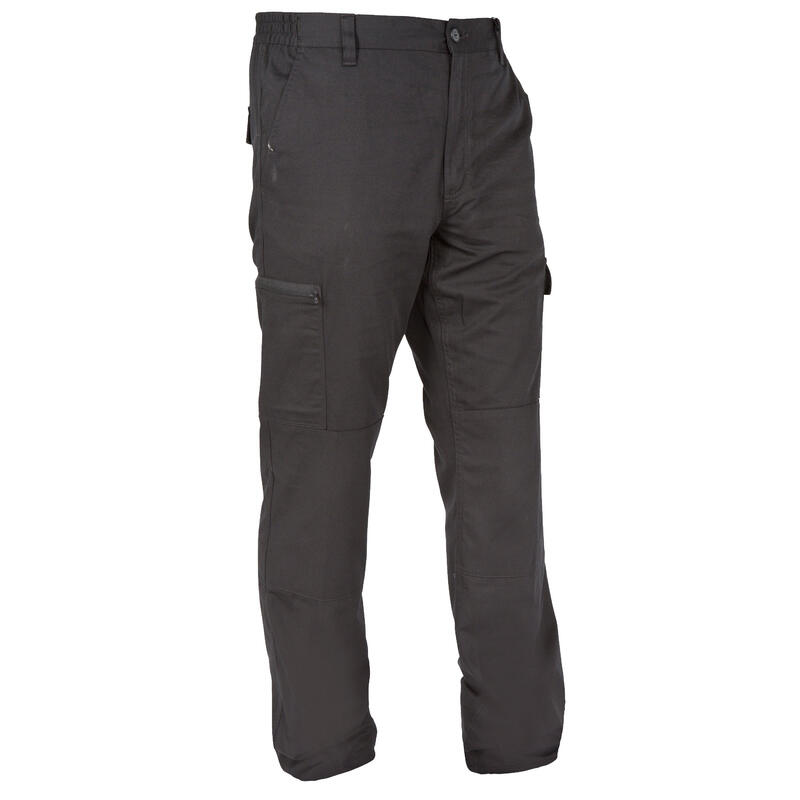 Pantalon chasse résistant Steppe 300 noir