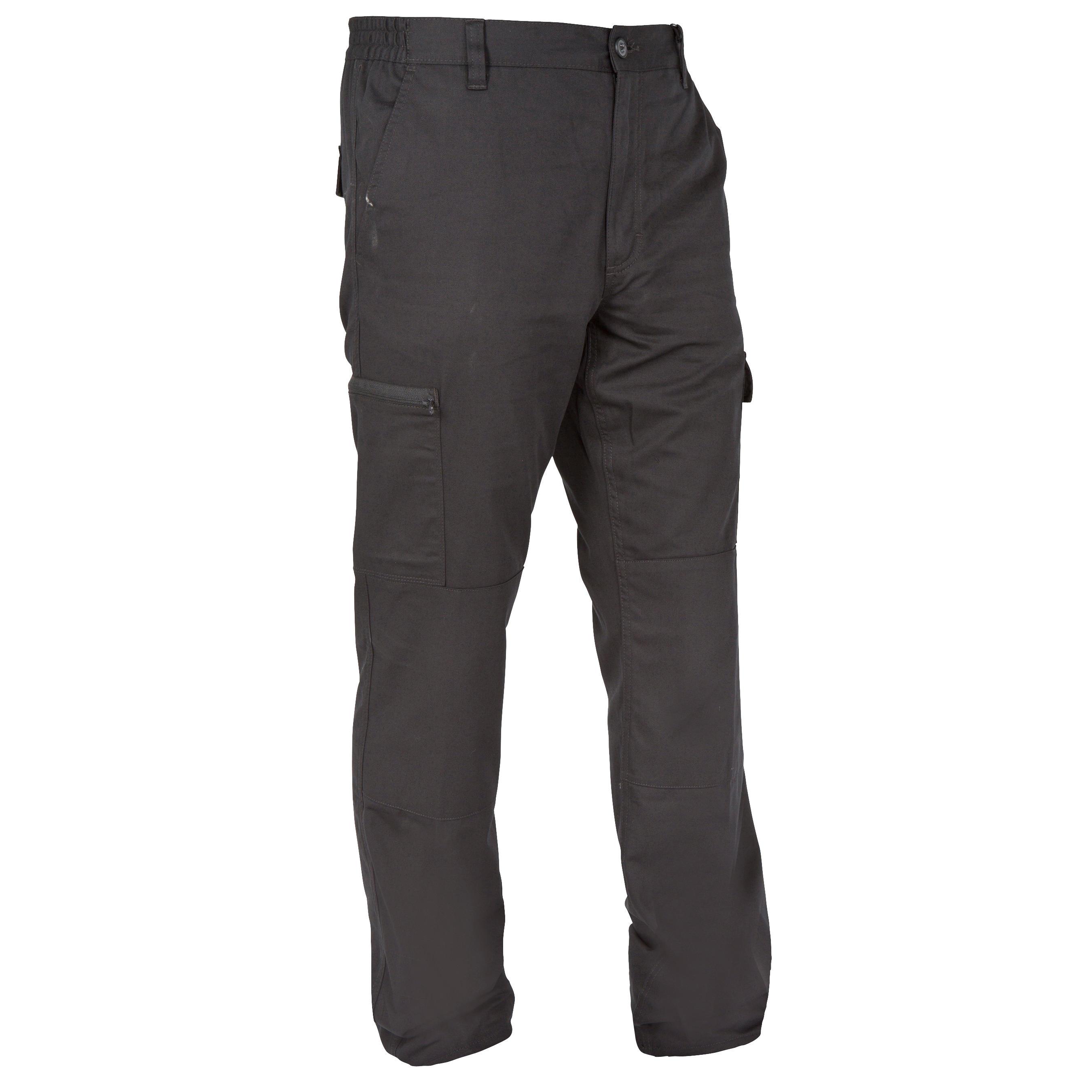 Pantalon Stepă 300 Negru