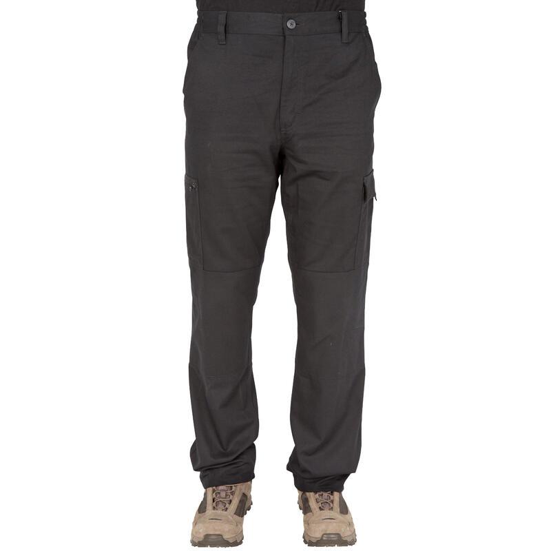 กางเกงขายาวสำหรับการส่องสัตว์รุ่น Steppe 300 (สีดำ)
