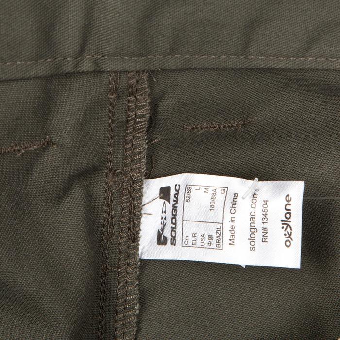 Pantalón de caza STEPPE 300 verde