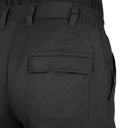 狩獵長褲Steppe 300-黑色