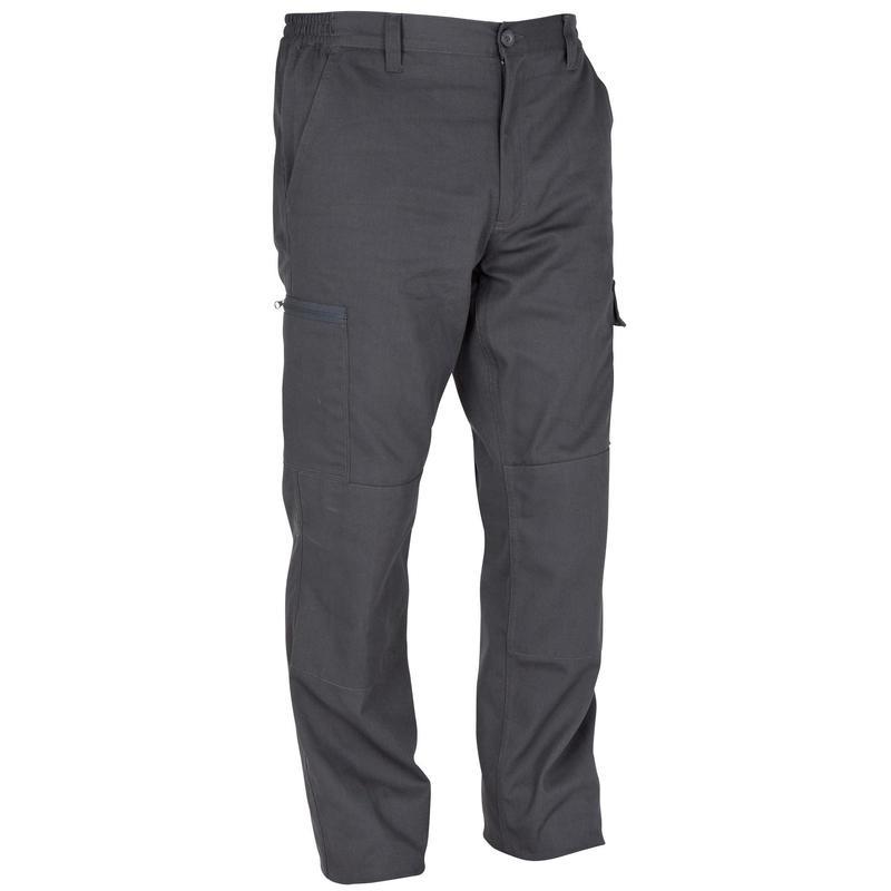 Pantalon chasse résistant Steppe 300 gris