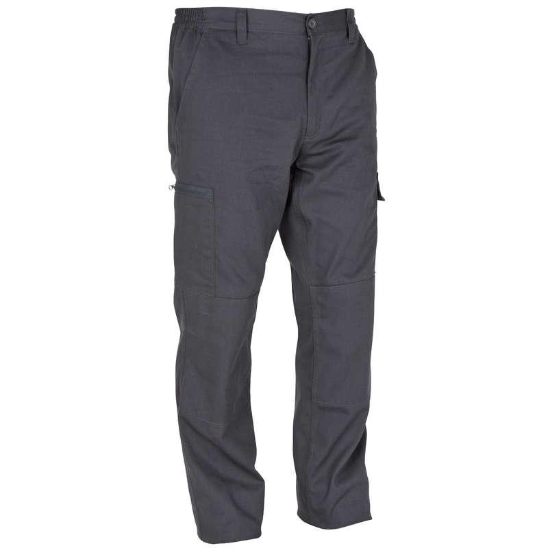 AVCILIK PANTALON/TİŞÖRTLERİ Avcılık - Steppe 300 Avcı Pantolonu Gri SOLOGNAC - Av Kıyafetleri