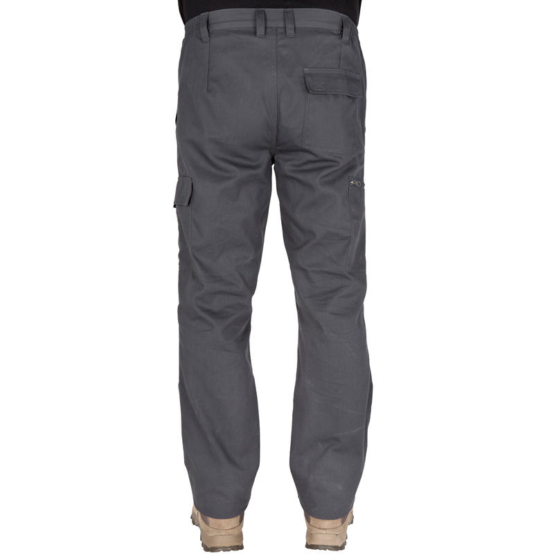 STEPPE 300 grey hunting trousers
