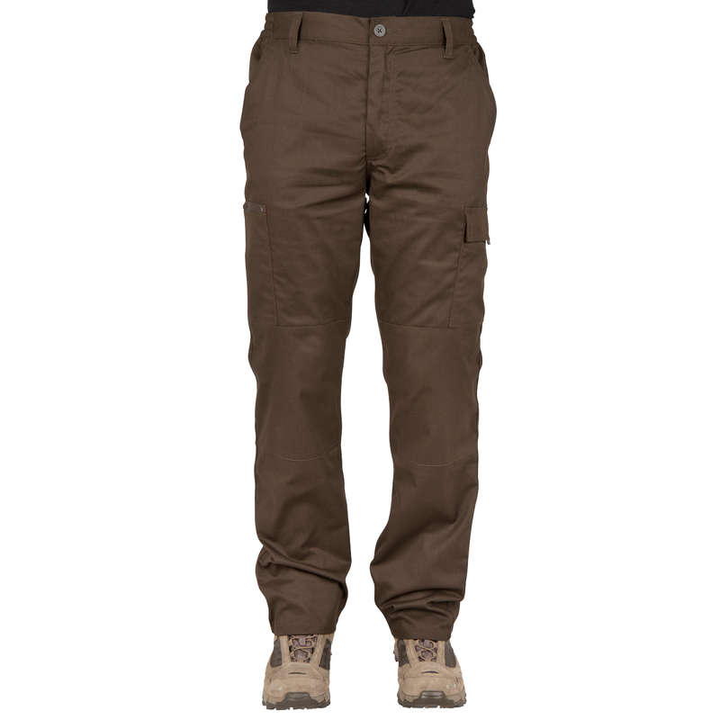 ЛОВНО ОБЛЕКЛО ЗА СУХО ВРЕМЕ Облекло - Панталон за лов Steppe 300 SOLOGNAC - Долнища